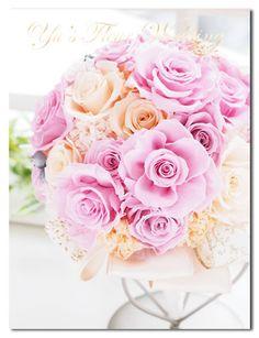 Yu's fleur (ユーズフルール)Wedding flower 港区ベイエリア flower Salon   ラベンダーピンクの上品でクラシカルなブーケ