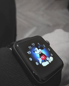 Ask me what time is it. #modern  #time #watch #mickeymouse #applewatch #fashion #style #stylish