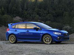 2015 Subaru WRX as a Hatchback