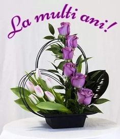 Glass Vase, Happy Birthday, 8 Martie, Flowers, Plants, Romania, Lgbt, Happy Brithday, Urari La Multi Ani