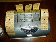 Ultimate Bell Punch bus ticket machine Those Were The Days, The Good Old Days, Nottingham City, 1970s Childhood, Old Technology, Bus Tickets, Ol Days, Dundee, Conductors