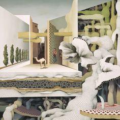 Korean surrealistic artist Jung-Yeo Min (b1979; Kwangju, South Korea)