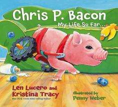 So cute! Book about a disabled pig getting around with a cart.