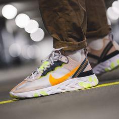 e7a4144946e Nike React Element 87 Beige   Orange