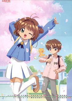 This is one of my fav and cute otp. Sakura is just too cute.