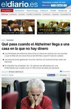 Con la crisis, los efectos del Alzheimer son más crueles en las familias con pocos recursos  http://www.dependenciasocialmedia.com/2014/04/con-la-crisis-los-efectos-del-alzheimer-son-mas-crueles-en-las-familias-con-pocos-recursos/