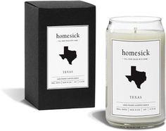 Homesick Candles Texas Candle Leather/Cotton