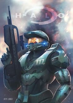 Halo - Master Chief by Logunkov on DeviantArt Master Chief And Cortana, Halo Master Chief, Xbox, Playstation, Halo Game, Halo 3, Halo Spartan, Microsoft, Halo Series