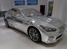 Two Infiniti Q50s Get Fashion Makeovers by Thom Browne and Zac Posen To Be Sold On Gilt.com