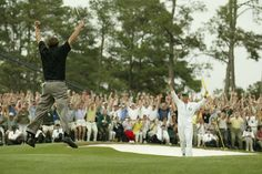 Phil wins the Masters 2004.