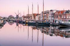Nieuw in mijn Werk aan de Muur shop: Het Galgewater in Leiden