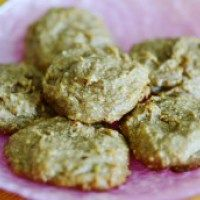Flourless Soft & Chewy Peanut Butter & Banana Cookies