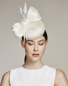 Juliette Botterill Millinery - bow and arrow Facinator Hats, Sinamay Hats, Millinery Hats, Fascinators, Headpieces, Race Day Hats, Occasion Hats, Crazy Hats, Fancy Hats