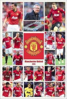 Soccer Teams, Wayne Rooney, Manchester United Football, English Premier League, Red Army, Man United, David Beckham, Theatre, Soccer