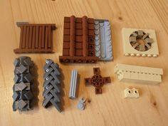 tablescrap techniques :D Lego Kingdoms, Lego Minecraft, Lego Lego, Lego Ww2, Lego Creative, Creative Ideas, Lego Halloween, Lego Furniture, Lego Sculptures