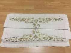 ottoman gold embroidery large cloth