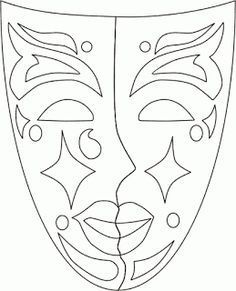 Adult coloring pages Mascara can be a cosmetic commonly familiar with help the eye Colouring Pages, Adult Coloring Pages, Coloring Books, Carnival Crafts, Carnival Masks, Theme Carnaval, Mardi Gras Decorations, Mardi Gras Beads, Mask Template