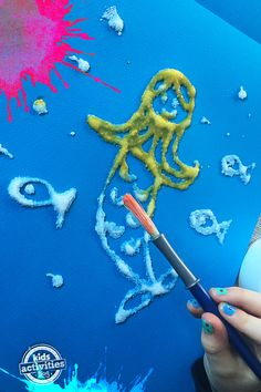 Salt Art Fun – Process Art For Your Little Ones