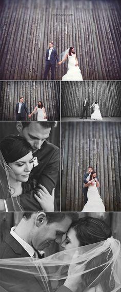 Awesome wedding portraits