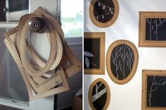 Do it yourself: beautiful paper frames , Arts And Crafts, Diy Crafts, Paper Frames, Matilda, Ideas Para, My Arts, Symbols, Scrapbook, How To Make