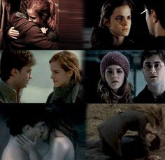 I identify with Hermione and have a crush on Harry, so I have to ship them. #Harmony