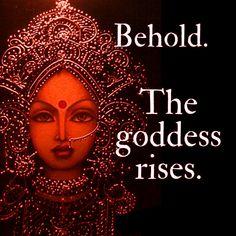 Behold! The Goddess Rises WILD WOMAN SISTERHOOD™ #WildWomanSisterhood #Goddess #redtentmoonlodge #wildwomanmedicine