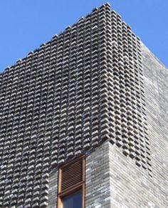 Facade Tetris: The Luminous And Textured Potential of Brick