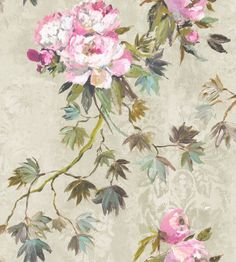 Floreale Natural wallpaper by Designers Guild