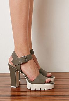 Need these platforms for my new wardrobe. They look comfy to wear.