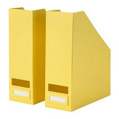 TJENA Magazine file - yellow - IKEA - $3.99/2 pk