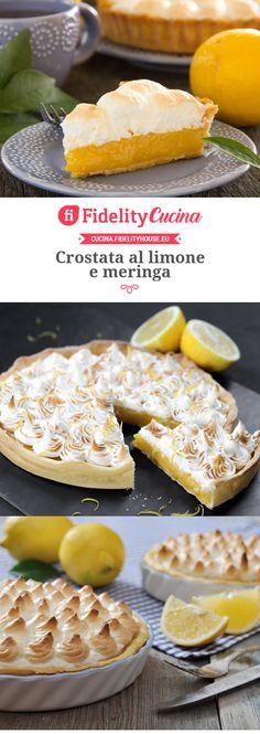 Crostata al limone e meringa