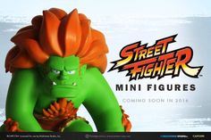 Capcom Approved Stylized Street Fighter Mini Figure Collection Unveiled | Entertainment Buddha