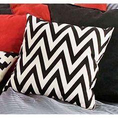 Imagen para Almohadon 40 X 40  Zigzag Negro de Easy