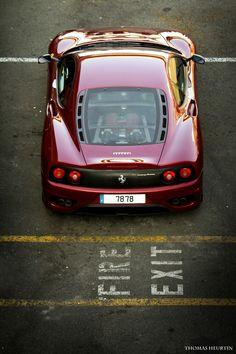by thomas mmmmm. Classic Sports Cars, Classic Cars, Françoise Sagan, Ferrari 360, High End Cars, Sexy Cars, Car Car, Fast Cars, Sport Cars
