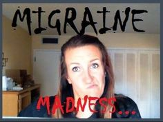 My attempt to discuss.... Migraine Headaches. * FUNNY *  Watch this one all the way thru!