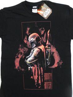 Boba Fett Bounty Hunter Mandalorian Logo Star Wars T-Shirt Nwt #StarWars #TShirt
