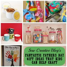 Canadian Mommy Blogger Sew Creative shares roundups of fabulous father's day crafts and printables