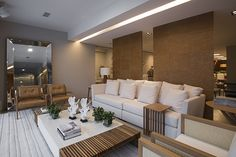 Showroom Franccino Casa Outdoor Sectional, Sectional Sofa, Outdoor Furniture, Outdoor Decor, Gabriel, Showroom, Conference Room, Table, Home Decor