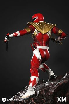 XM Studios is excited to present our first Power Rangers Premium Collectibles series statue, Red Ranger! The iconic team leader of the Power Rangers, Red Ranger is immortalized in amazingly detailed 1:4 scale cold-cast porcelain. Each painstakingly handcrafted statue is individually hand-painted with the highest possible quality finish. Paying a tribute to one of our beloved childhood pop culture, Red Ranger is given the XM touch, you can power up Red Ranger by putting on his Power Armor!