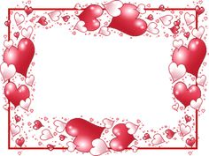 ✼ ✻ ✺ ✹ ✸ ✷ ₪ ❃ ❂ ❁ ❀ Valentines Photo Booth, Valentine Backdrop, Valentines Frames, Valentine Background, Happy Valentines Day, Free Frames And Borders, Frame Wall Collage, Page Borders Design, Valentines Day Coloring Page