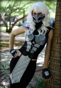 Female Smoke - Mortal Kombat cosplay 2