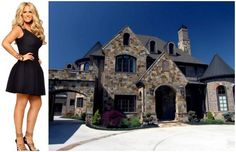 """Real Housewives of Atlanta, Seasons 1 - 5  Kim Zolciak-Biermann recently announced on Twitter: """"I think I missed my calling...I should be a decorator!"""" Say what you will about Kim's decorating skills, but there's one thing about her new 17,000-square-foot custom-built Atlanta home that's crystal clear: the outside is just as fabulous as the inside. With an outdoor basketball court, a waterfall, a jacuzzi, and a pool that's kept at 98 degrees, the only thing you might be tardy for after…"""