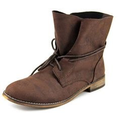 r.b.l.s. Rana   Round Toe Synthetic  Ankle Boot - Walmart.com