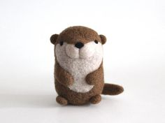 Needle Felted River Otter