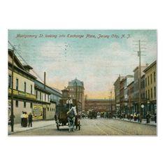 Montgomery St., Jersey City NJ 1908