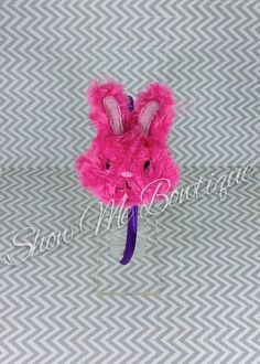 Stuffed Bunny headband design by ShowMeBowtique on Etsy