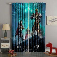 Boys Room Curtains, 3d Curtains, Custom Curtains, Blackout Curtains, Panel Curtains, Custom Bedding, Shop Window Displays, Fabric Material, Destiny
