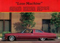 Love Machine 1976 Chevrolet Caprice