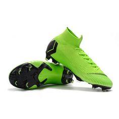 best service 833a5 d7bfa Nike Mercurial Superfly 6 Elite FG 2018-19 soccer boots Volt  Black Soccer  Boots