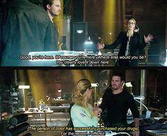Diggle, Ollie & Felicity